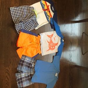Boys top brands, swim suit bundle- like new cond!